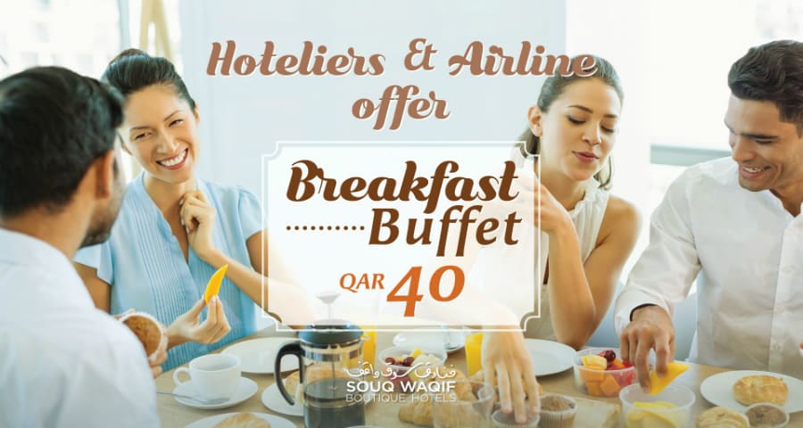 Hotelier and Airline Breakfast Offer