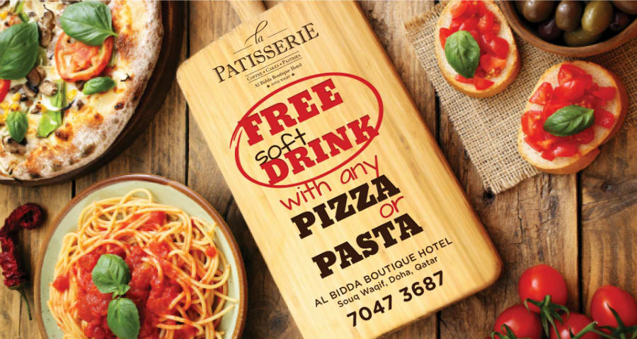 La Patisserie_Pizza Pasta free soft drinks_Brand.com Highlight_2019