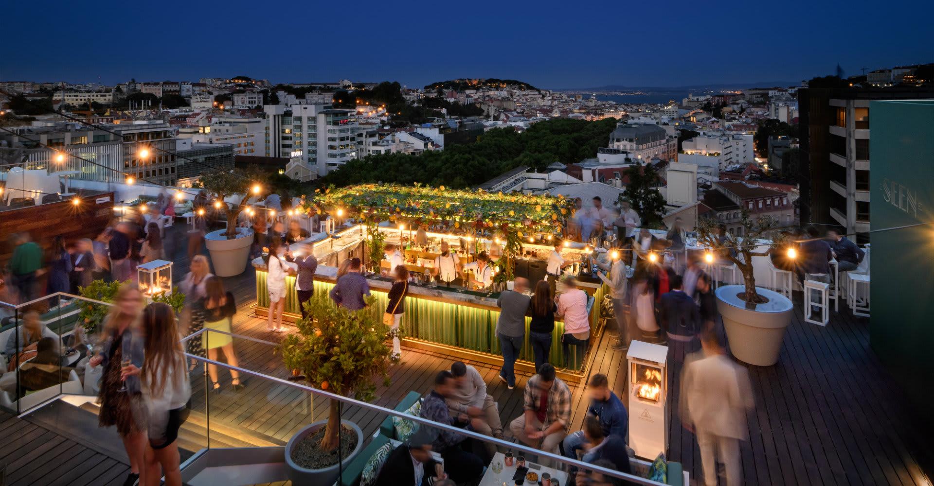 Lisboa Rooftop Bar Sky Bar By Seen At Tivoli Avenida