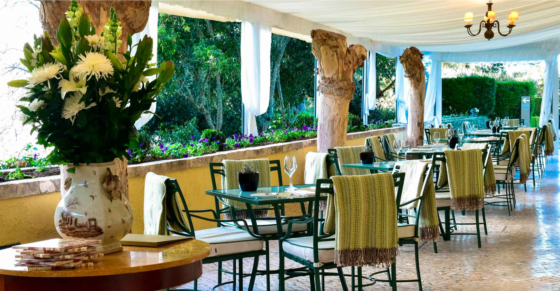 Restaurants and Bars at Tivoli Palácio de Seteais Sintra Hotel