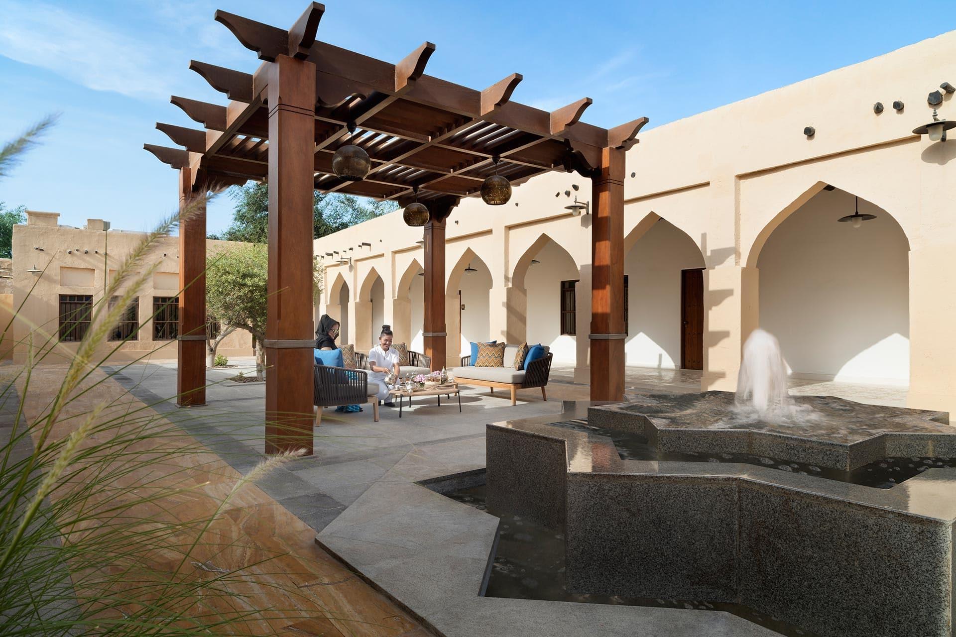 Souq Al Wakra Hotel Qatar by Tivoli - Spa Courtyard